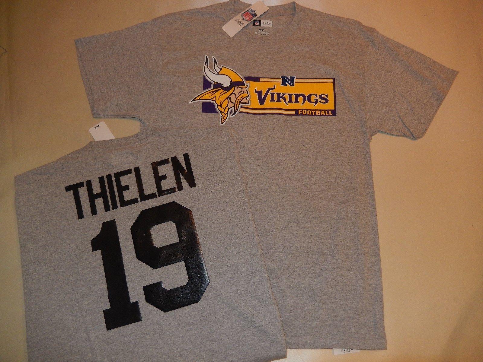 the best attitude 0f9b8 e6402 Details about 8118 MENS NFL Minnesota Vikings ADAM THIELEN ...