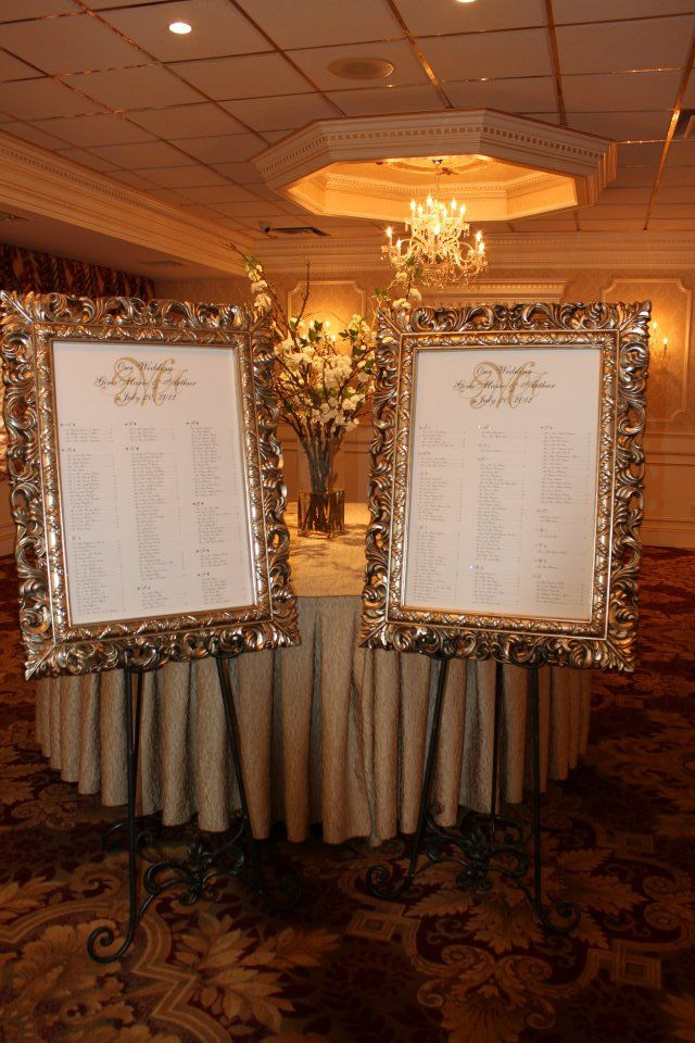 Wedding Seating Chart Thinking Of Doing This Instead Of