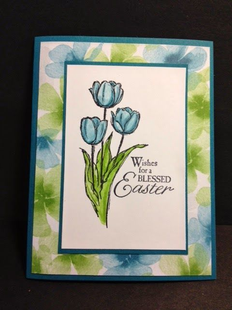 Blessed Easter and Watercolor Wonder