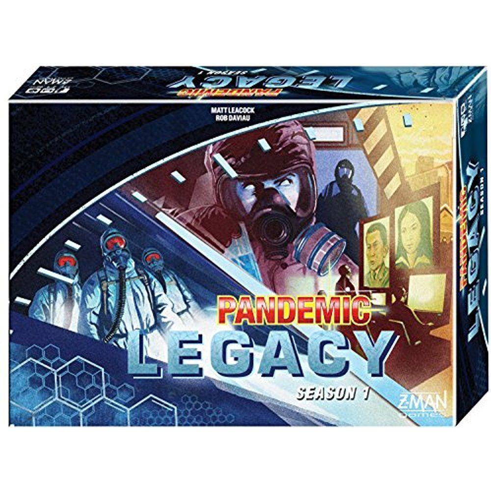transformer zman games pandemic legacy board game, 2 to