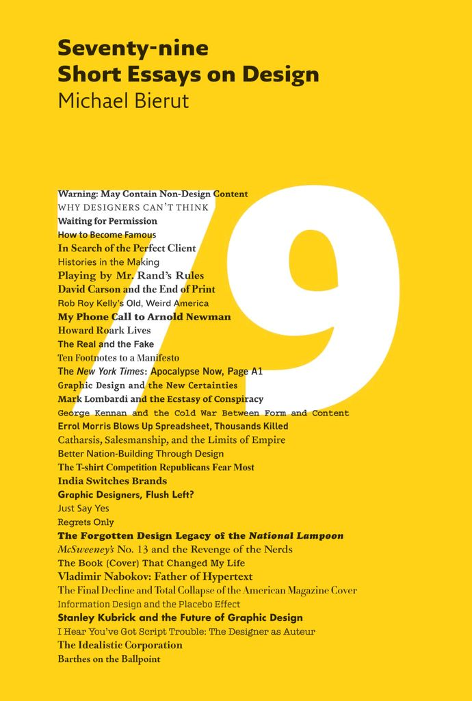 Seventy-nine Short Essays on Design brings together the best of - Short Essays To Read