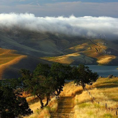 No, this isn't Tuscany; it is California!