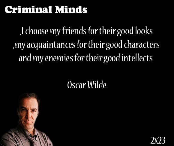 Criminalmindsquotesaddict Criminal Minds Quotes Mindfulness Quotes Criminal Minds
