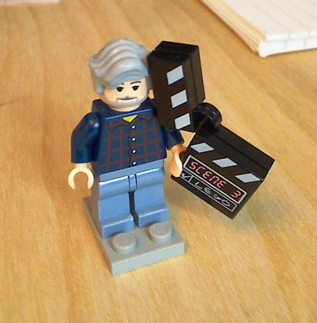 George Lucas (the creator of Star Wars) LEGO minifigure  | Stuff