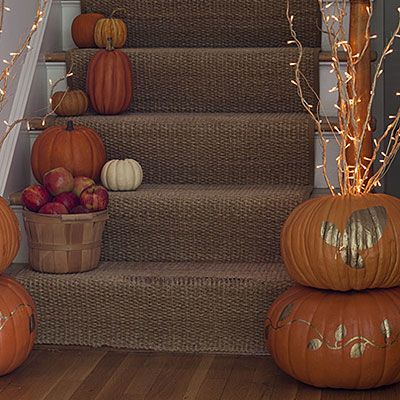 36 Easy Halloween Pumpkin Ideas Fall pumpkins, Thanksgiving and - halloween pumpkin decorations