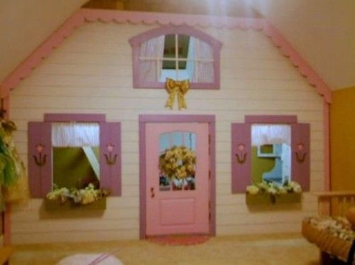 Pink Indoor Playhouse Design Ideas with Plants For my girls
