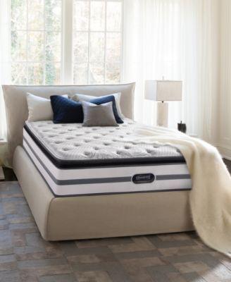Beautyrest Recharge Mona 13 75 Plush Pillowtop Mattress Set King