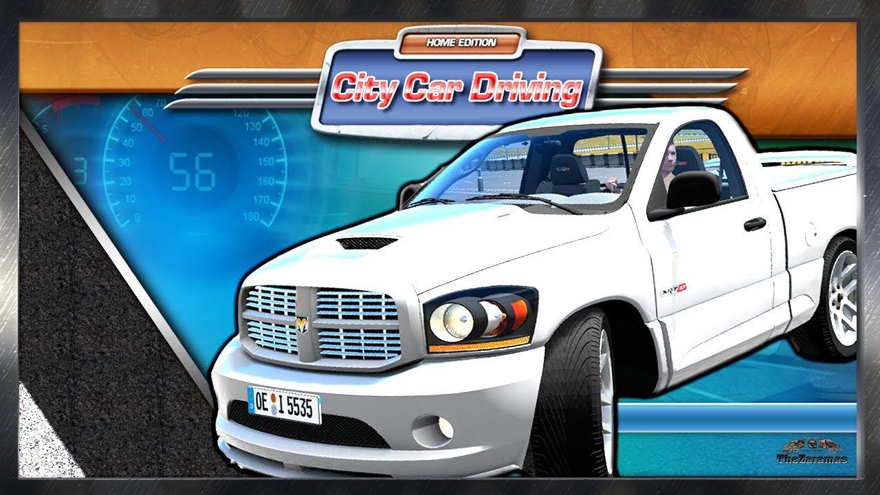 dodge ram srt 10 city car driving ccd 60fps 2k 1440p city rh pinterest com