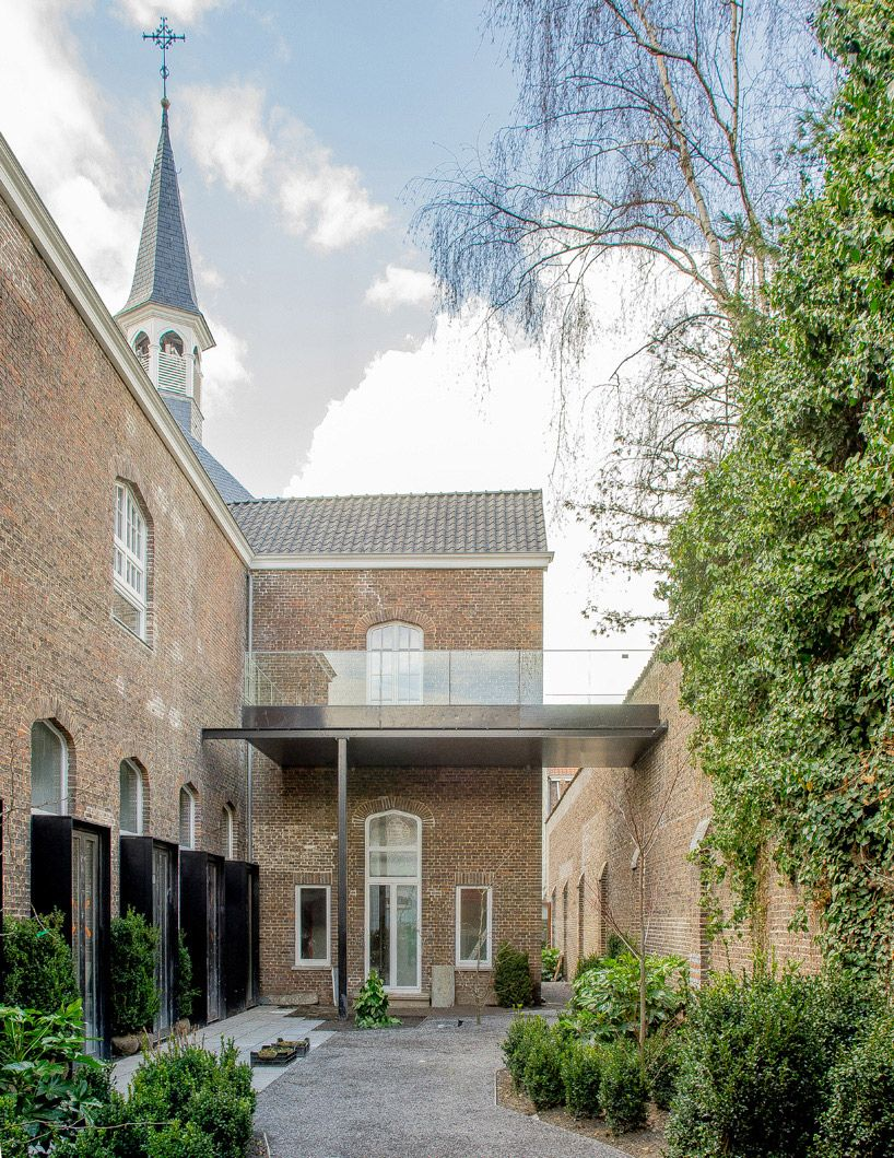 a2o architecten completes convent conversion in belgium