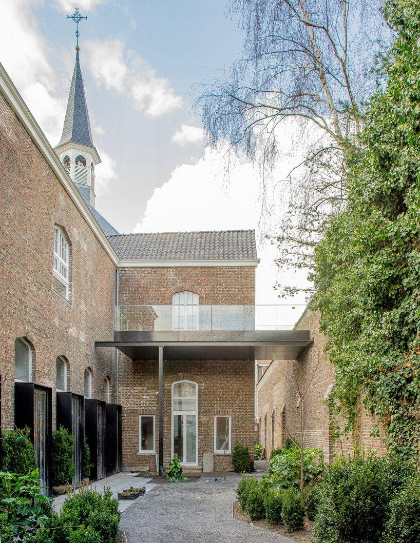 a2o architecten completes convent conversion in belgium