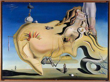 Salvador Dalí Figueras, Girona, España, 1904 - 1989 Visage du Grand Masturbateur (Rostro del Gran Masturbador) Fecha:  1929 Técnica:  Óleo sobre lienzo