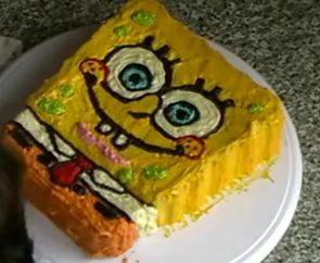 How to make spongebob cake Recipes Tips and Food Facts