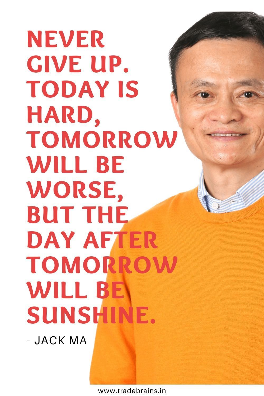 Jack Ma Quotes Investment quotes, Investing, Team building quotes
