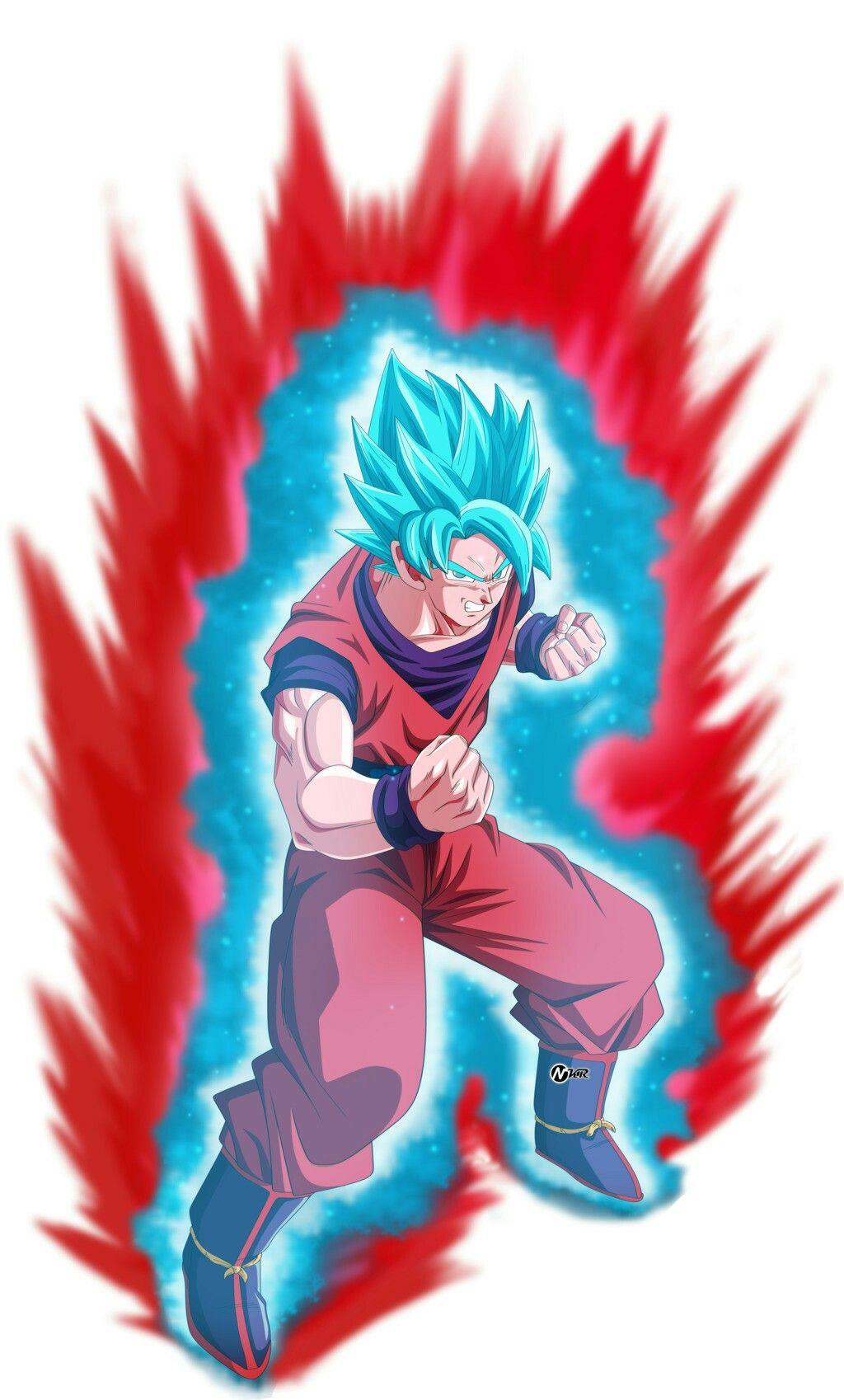 Goku Ssj Blue Kaioken Universo 7 Z Fighters Pinterest Goku
