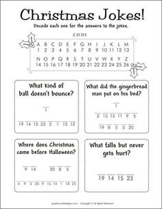 Christmas Riddles  Christmas Jokes For Kids  Free Printable Party Games And Activities For