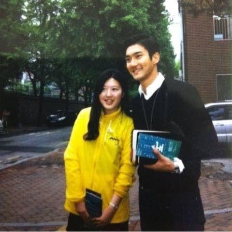 Siwon At Church With Fans Siwon Choi Siwon Super Junior