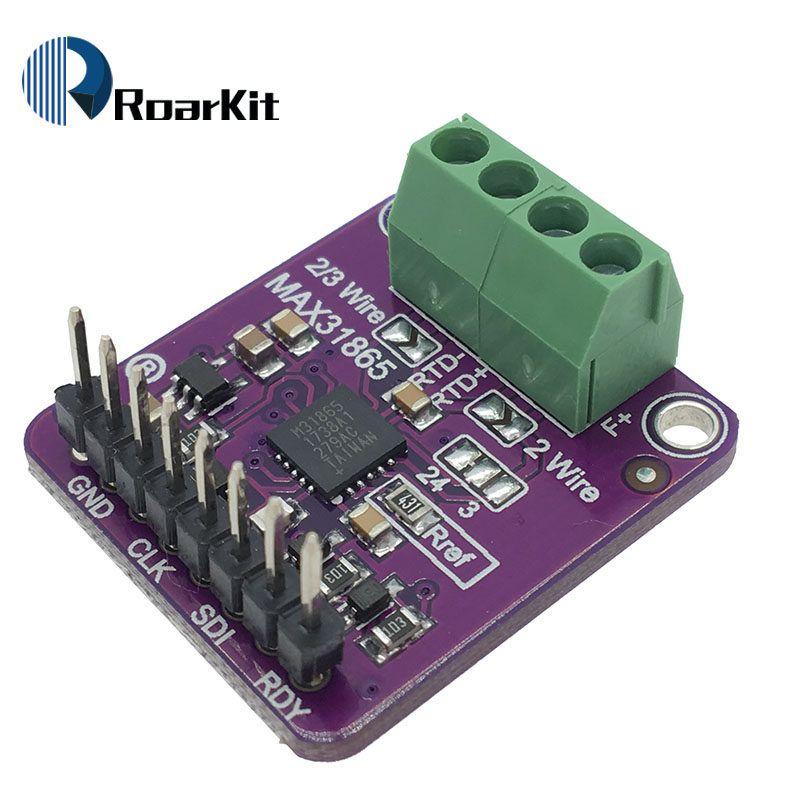 MAX31865 Temperature Thermocouple Amplifier PT100 RTD-to-Digital Converter Board