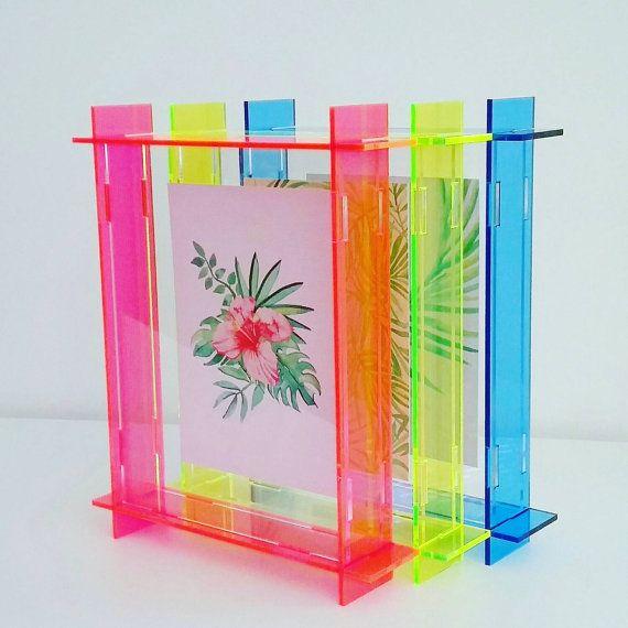 Small Acrylic Box Frame A6 Perspex Frame Floating Frame 3d Frame Postcard Size Decoracion De Unas Disenos De Unas Diseno De Interiores
