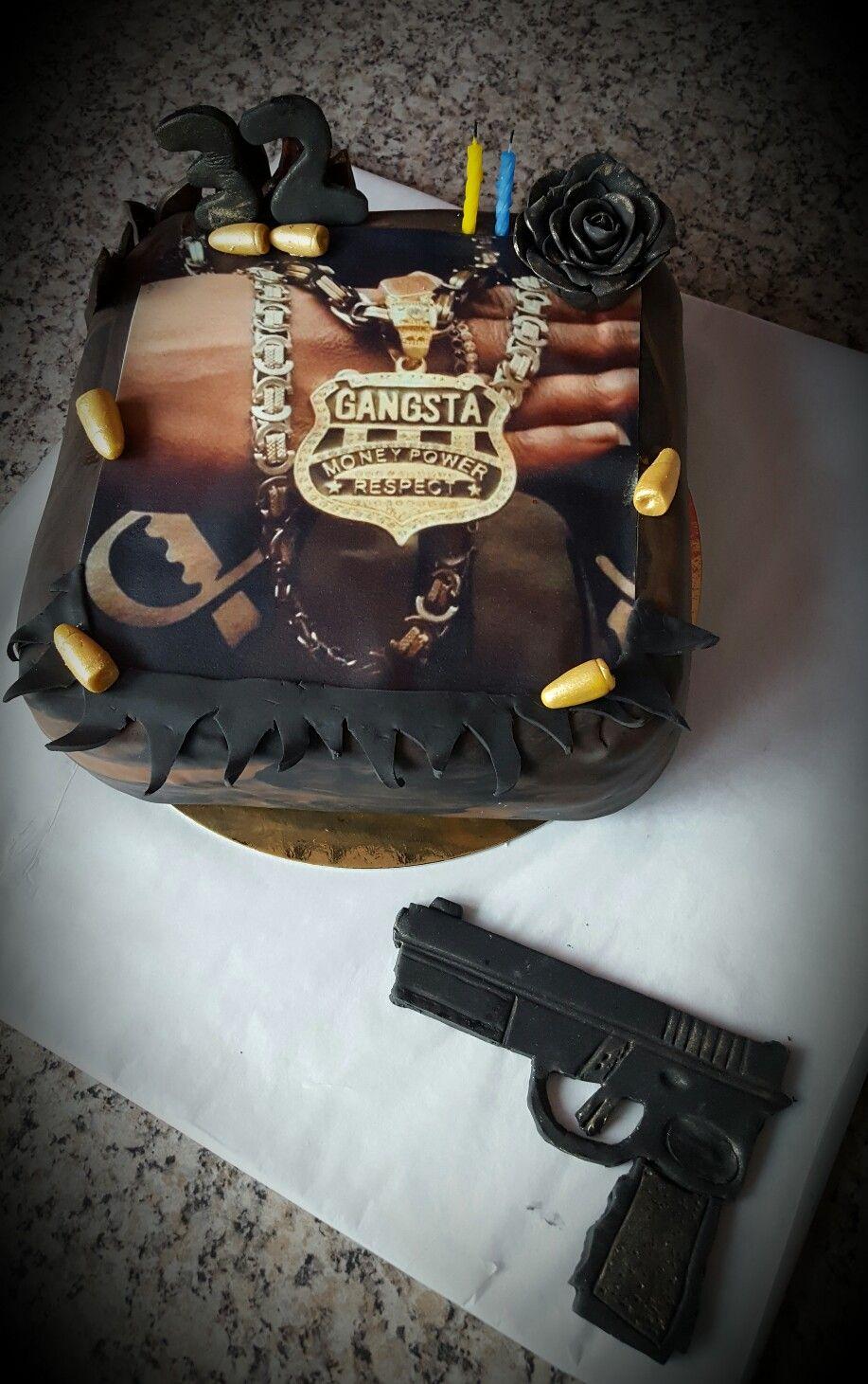 Gangster Birthdaycake Mafia Party Ideas Mafia Party