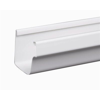 Amerimax 5 In X 10 Ft Vinyl Traditional K Style Gutter