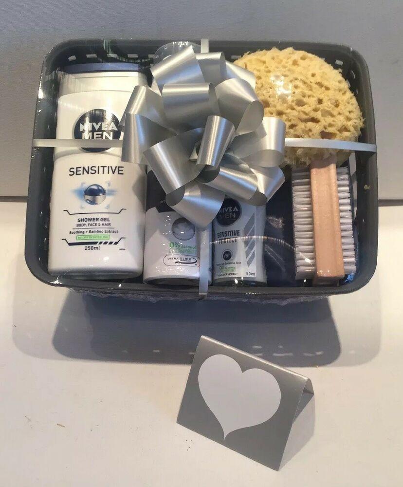 Birthday Gift Basket Hamper For Him Mens Idea Husband Dad Brother Son