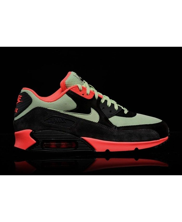official photos fd7d5 7b496 Unisexe Chaussures - Nike Air Max 90 Ultra Essential Vapor Vert Noir