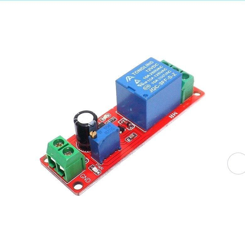 Thinary Electronic Dc 12v Delay Relay Shield Ne555 Timer Switch Adjustable Module 0 10s Thinary Electronic Delay Relay Shield Ne555 Timer Relay Shield