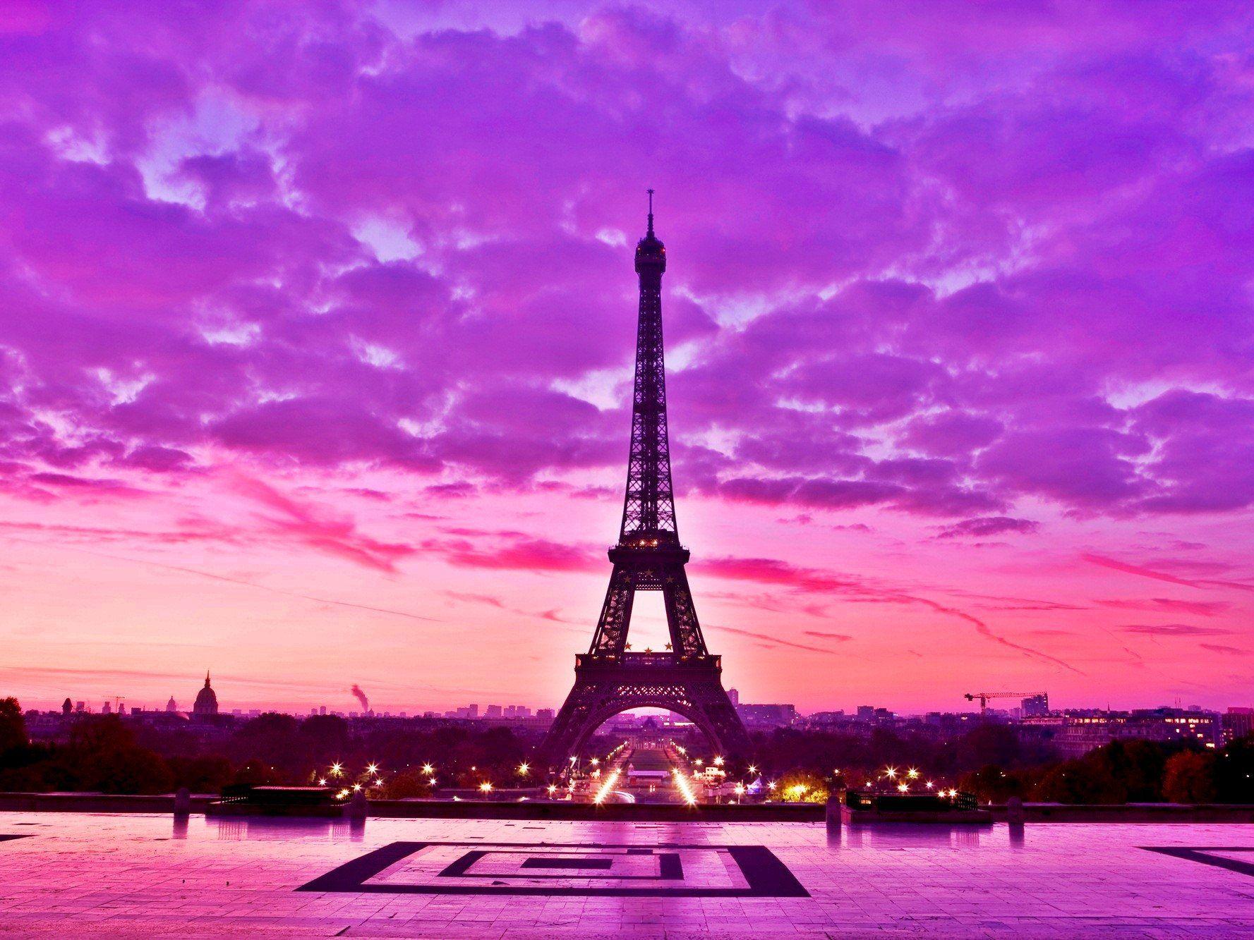 Image for pink eiffel tower wallpaper fondos de pantalla