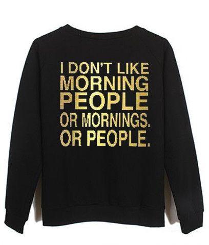 i dont like morning people - Kendrablanca 13