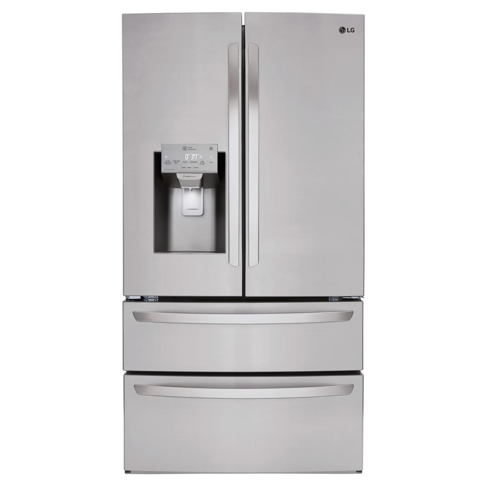 Lg Electronics 27 8 Cu Ft 4 Door French Door Smart Refrigerator