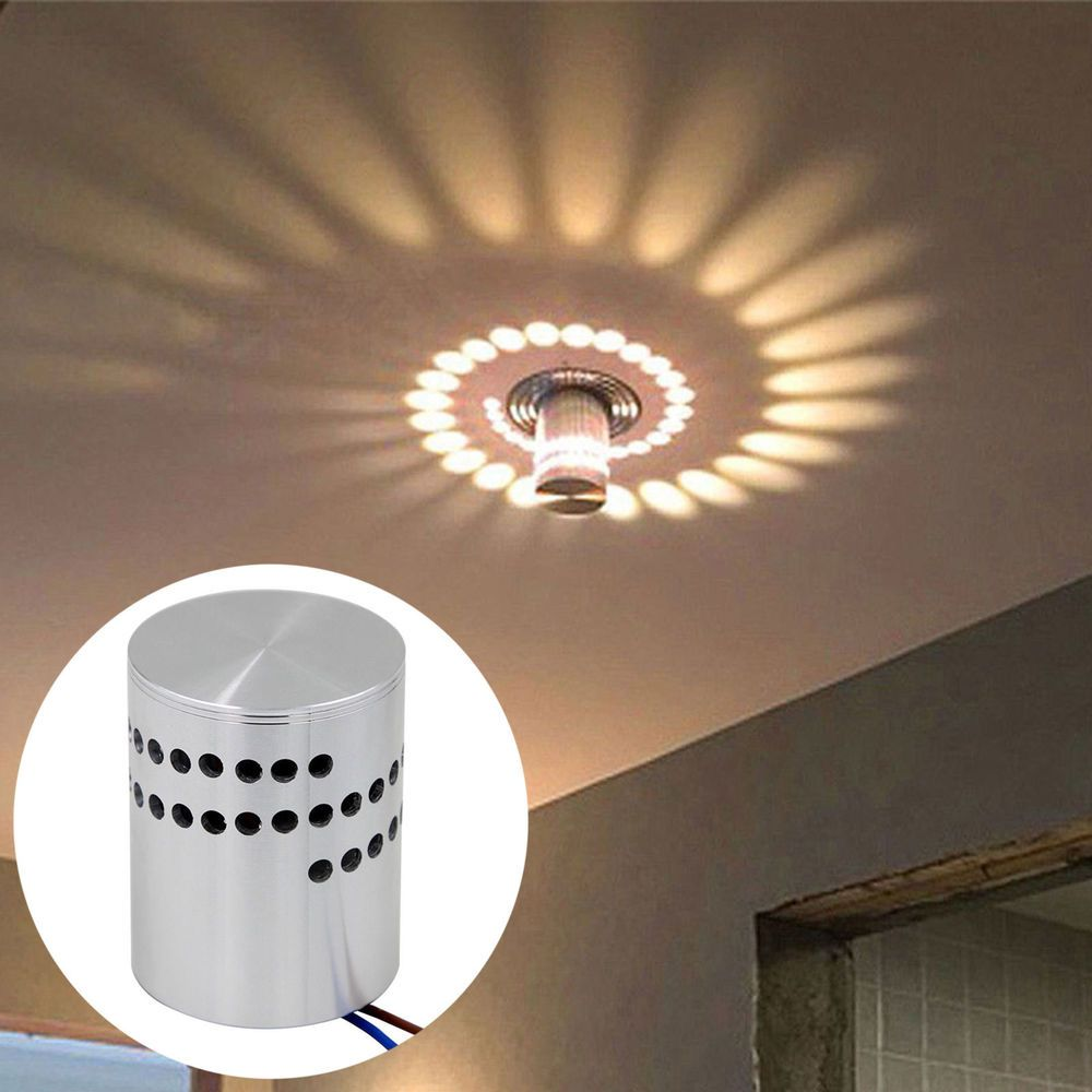 Spiry Modern 3w Led Wall Light Lamp Sconce Spot Lighting Home Bedroom Fixture Home Garden Lamps Lighting Ceilin Ceiling Lights Led Wall Lamp Lamp Light