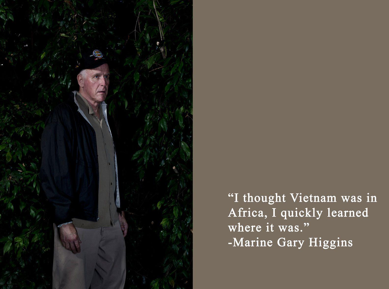 TOM SANDERS PHOTOGRAPHY VIETNAM WAR PORTAITS