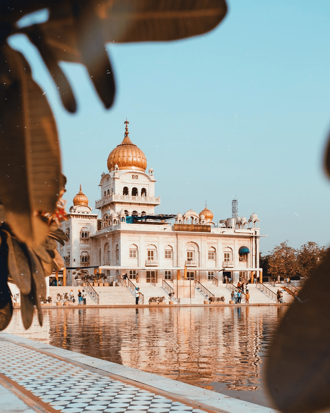 India Delhi Gurudwara Bangla Sahib