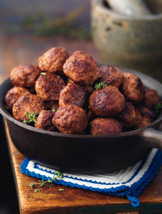 saftiga köttbullar recept