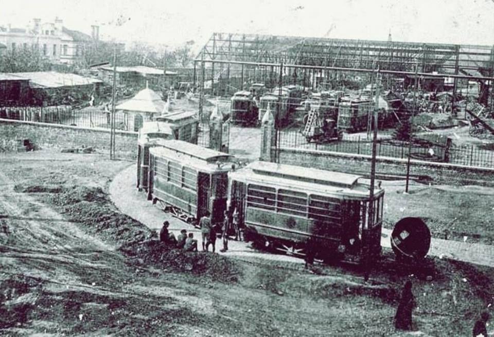 bağlarbaşı tranvay deposu 1940 lar