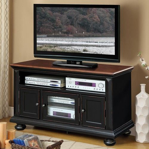50 Tv Console With 3 Doors Richland By Riverside Furniture
