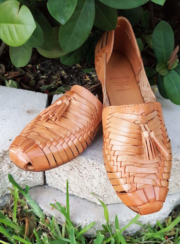 Huarache Mexican Artisan Women Summer Sandals All Hand Made /& 100/% Leather