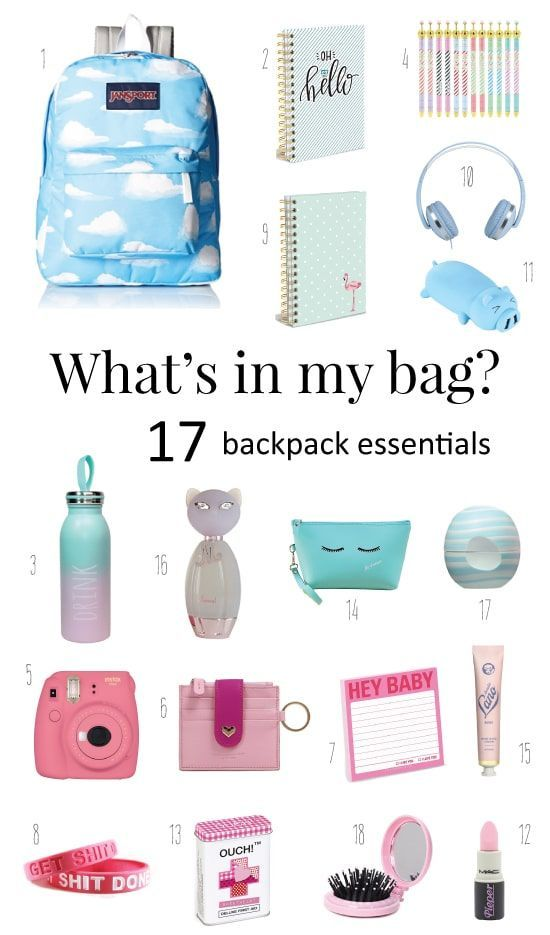 What is in My Bag? Back To School Checklist #backtoschool