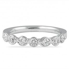 0.60 CT DIAMOND WEDDING BAND RING