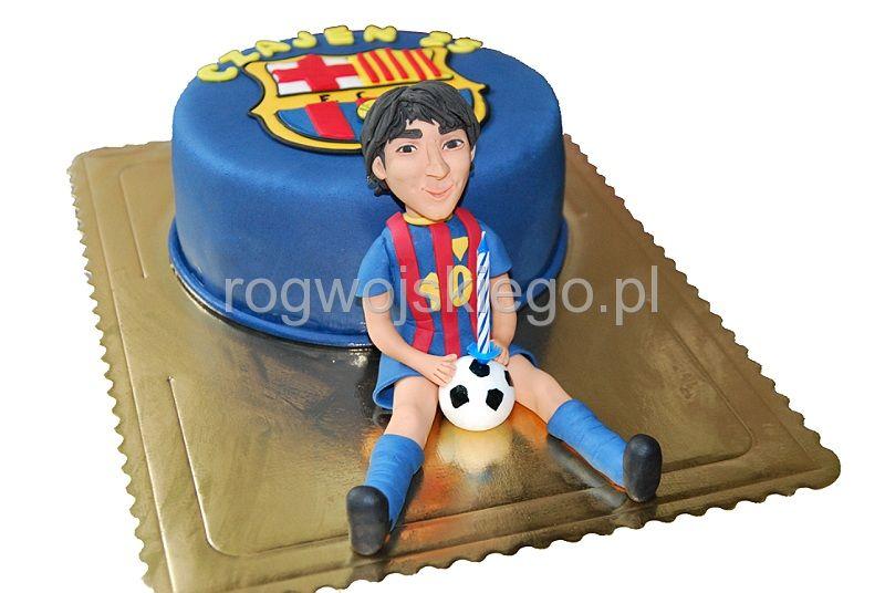 Tort FC Barcelona | Leo Messi cake