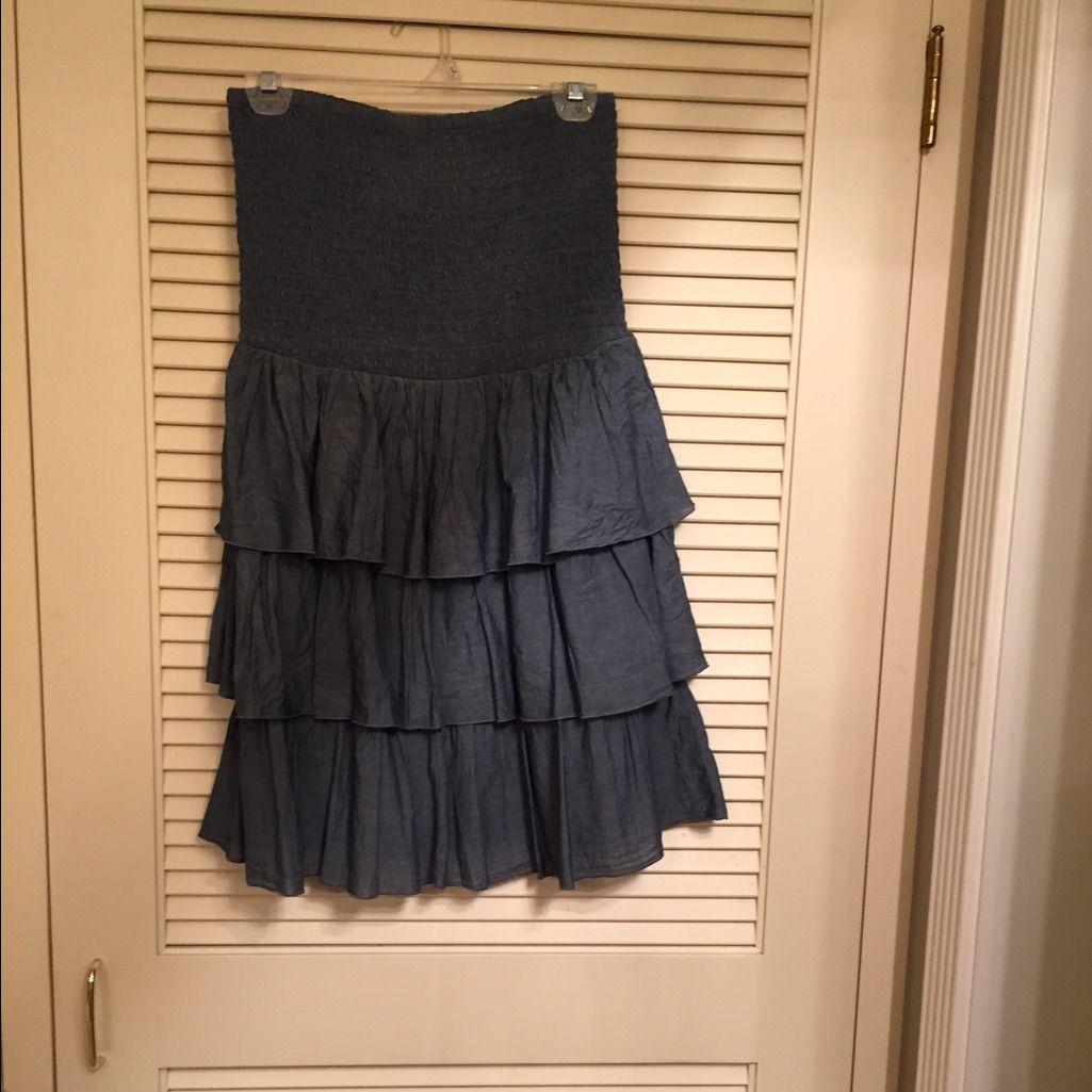 Old Navy Chambray Dress