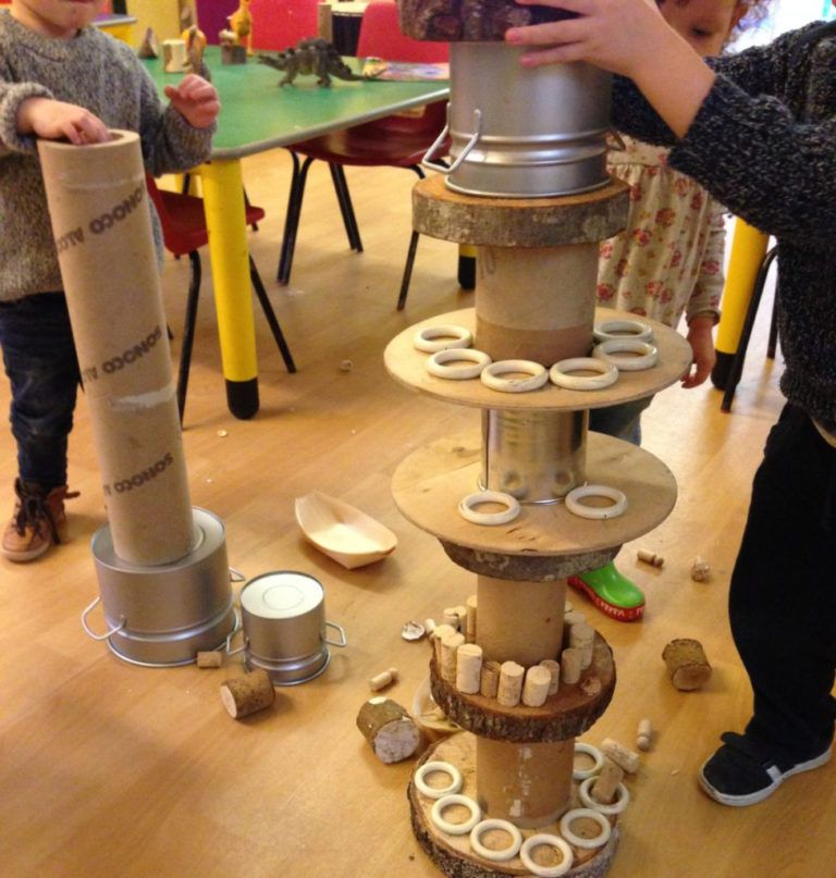 Loose parts play by Little Miss Early Years #curiosityapproacheyfs