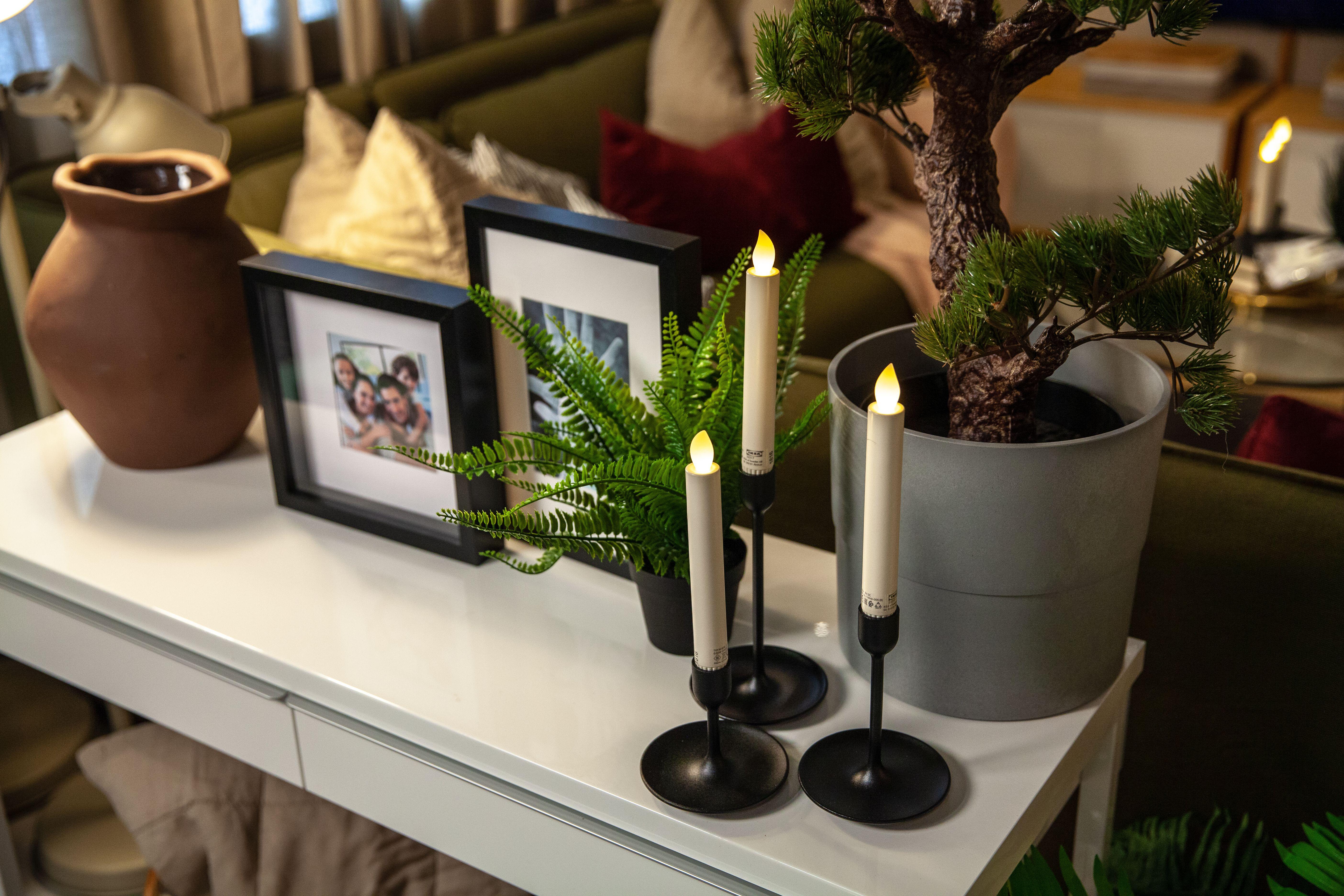 Console Decorating تنسيق للكونسول Ikea Living Room Design Planning Signature Design