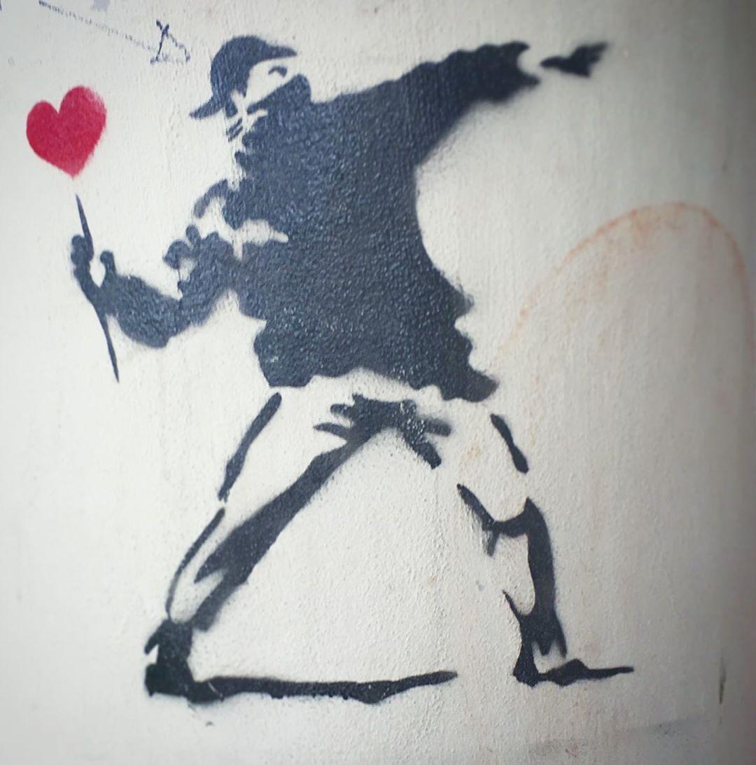 Pin On Banksy