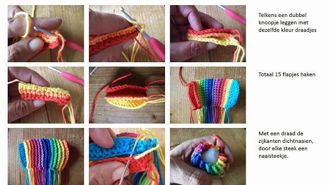 ergahandmade: How to Crochet * Tawashi Easter Egg - Pom Pom + Free ...
