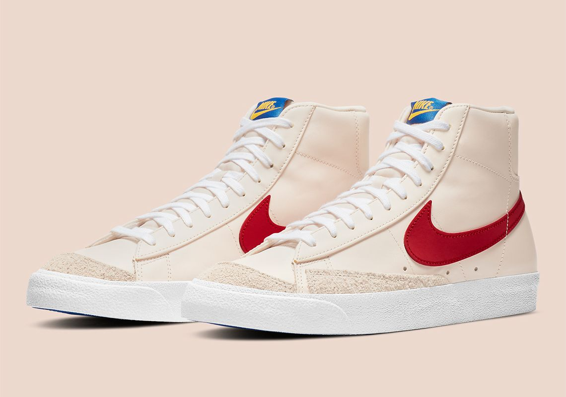 Nike Blazer Mid '77 Guava Ice Red DH0929-800 | SneakerNews.com