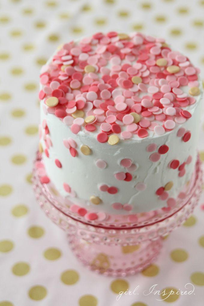 Confetti Cake Best Of Pinterest Pinterest Buy Cake Confetti