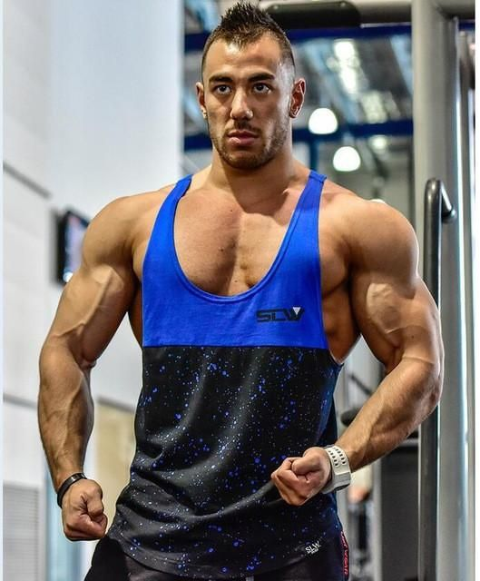 MENS My Body Is My Most Important Equipment bodybuilding body building TANK Vest