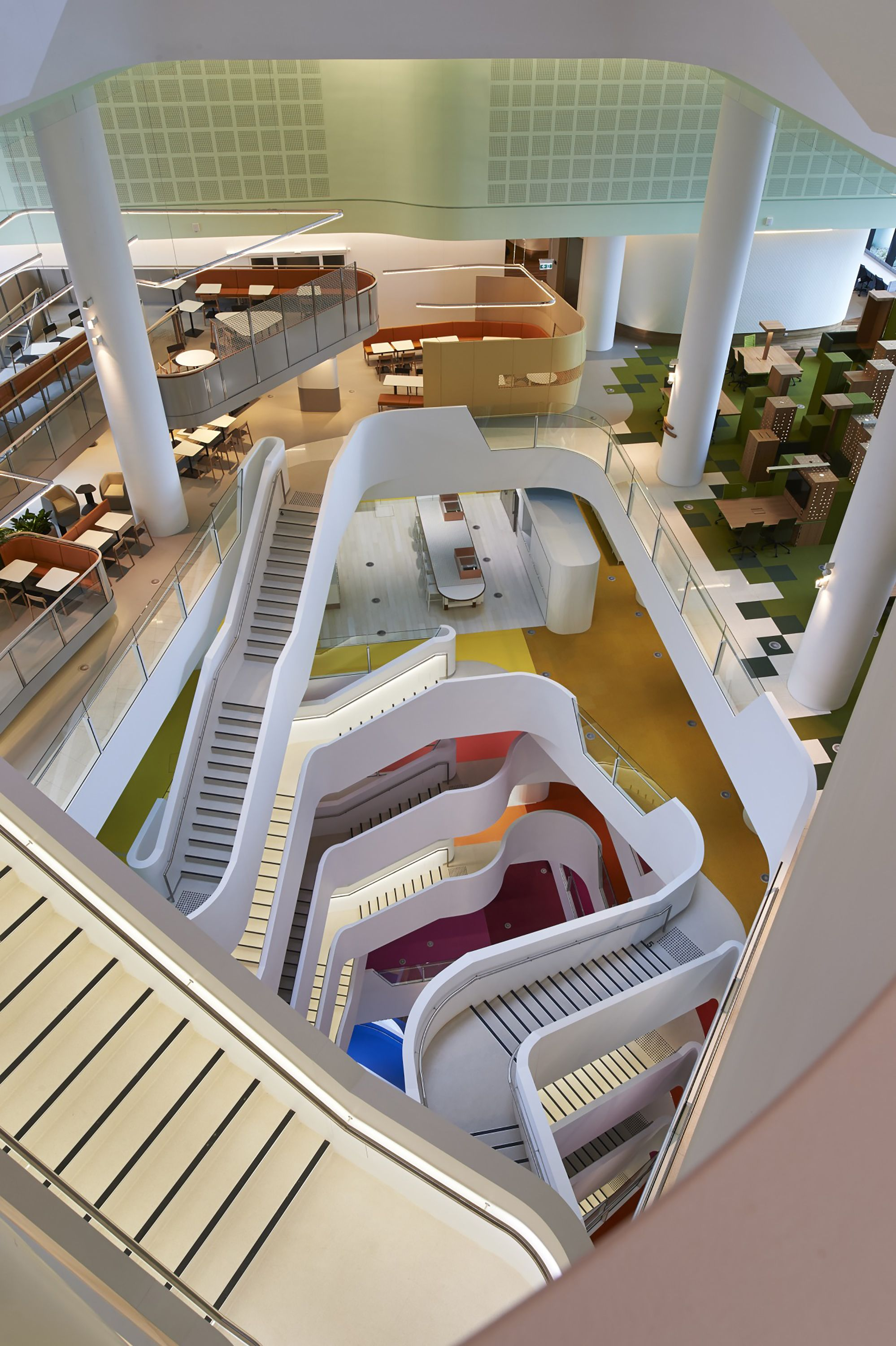 gallery of medibank hassell 7 workplace design architecture