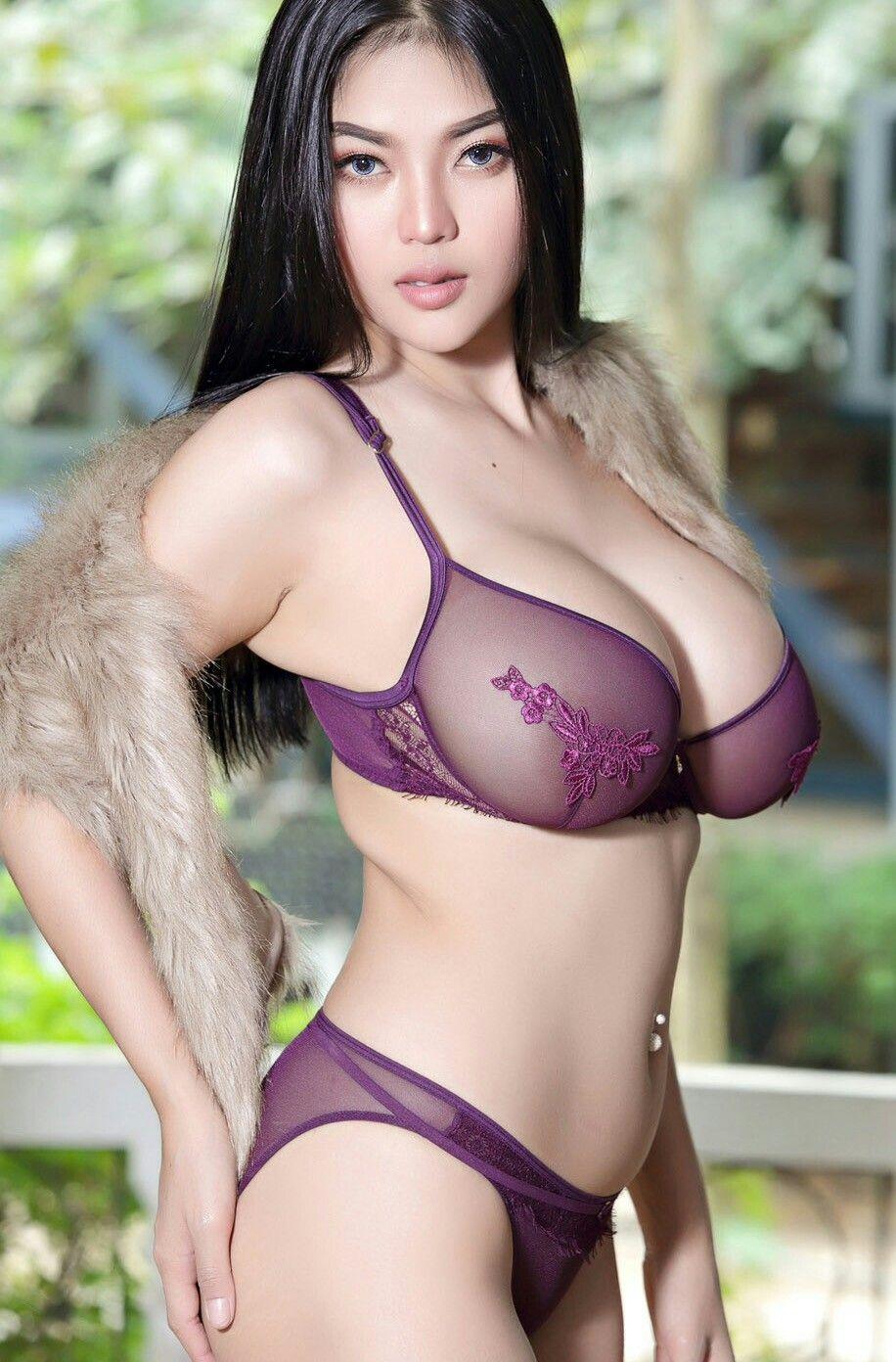 Busty asian models